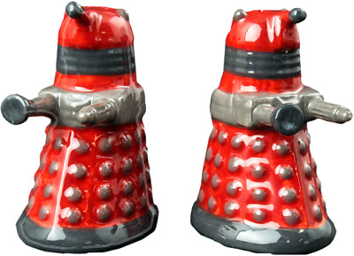 Doctor Who - Dalek Salt and Pepper Shakers