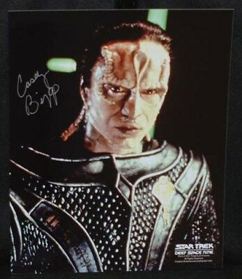 Casey Biggs (Damar) STAR TREK DEEP SPACE 9 AUTOGRAPH