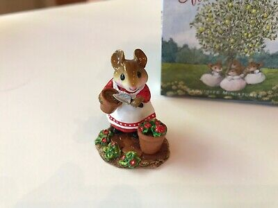 Wee Forest Folk  M-237 PATIENT LUCY, Red & White Ltd. Store Special 1/100 - MINT
