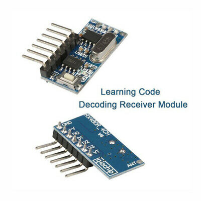 433/315 Mhz Wireless RF Receiver Learning Code Decoder Module For Remote Control
