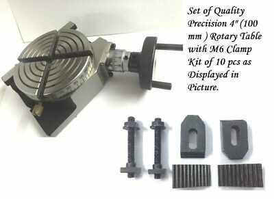 Milling Tables 24 Pcs Clamp Kit Set M6 6 mm For Rotary Tables Face Plates /&