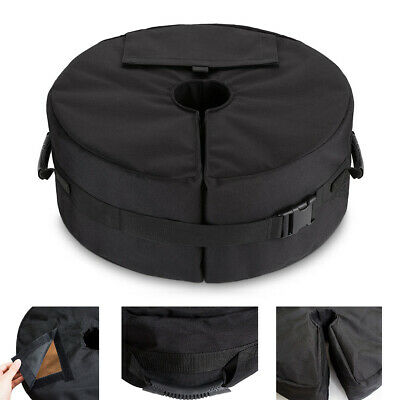 """Patio Sunshade Umbrella Base Weight Bag 18""""Round Sand Stand Outdoor Camping Tent"""