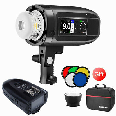 Jinbei HD-400 Flash 400Ws TTL HSS Li-ion Battery Strobe with TR612 for Nikon