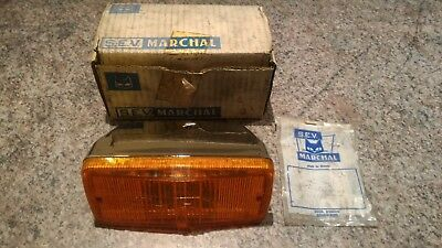 Feu de recul Marchal 550/300 SL orange - amber rear light