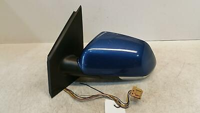 2007 Vw Polo (9N3) Passenger Door Mirror Electric In Blue S6 / A5K