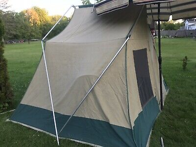 low priced 5b521 e176f VINTAGE SEARS HILLARY CANVAS 10' x 8' Family Camping teNt