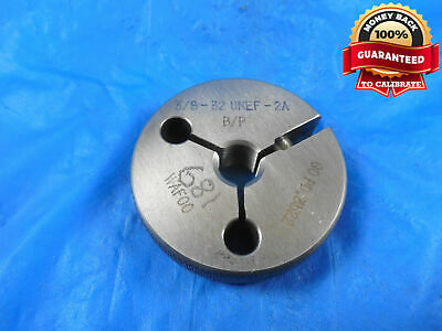 5//8 24 UNEF 2A THREAD RING GAGE .625 NO GO ONLY BEFORE PLATE P.D = .5920 TOOLS