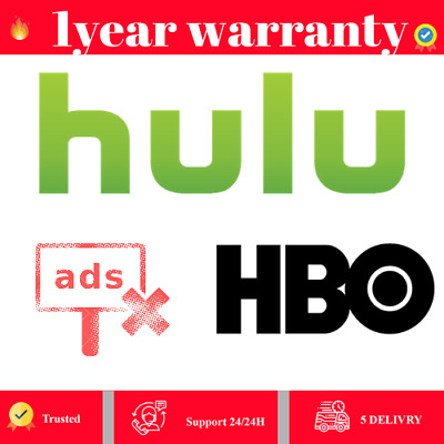 ✅Hulu Premuim + HBO✅ 1 Year Warranty Fast delevery 🔥 (✅SUPPORT✅)
