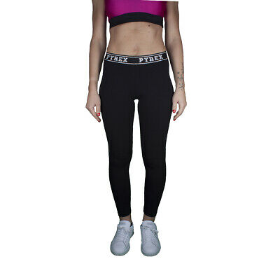Pyrex Leggings donna in Jersey Stretch Logo Small 34231