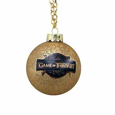 Kurt Adler Game of Thrones Glass Ball Ornament