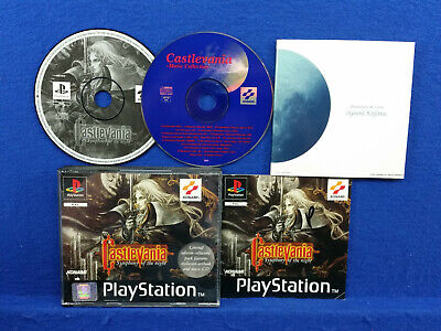 ps1 CASTLEVANIA SYMPHONY OF THE NIGHT Very Rare LIMITED EDITION Complete PAL ps3
