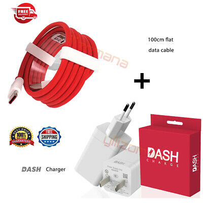 2019 DASH Fast Charge Wall Charger Adapter Type C Cable For Oneplus 6T/6/5T/5/3