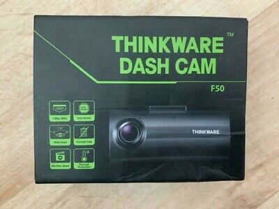 Thinkware F50 Full HD 1080p 8GB Dash Cam Front Camera 12v Power Cable