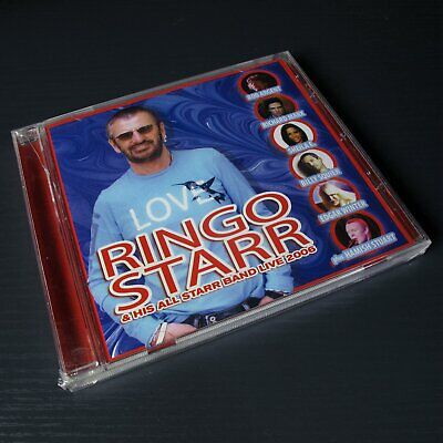 Ringo Starr - His All Starr Band Live 2006 USA CD Sealed [Case cracked] #0305*
