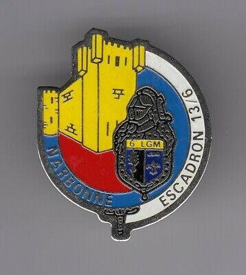 Rare Pins Pin's .. Gendarmerie Nationale Mobile Egm 13/6 Chateau Narbonne 11 ~El