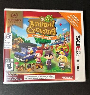 Animal Crossing New Leaf Welcome Amiibo [ Nintendo Selects Print ] (3DS) NEW