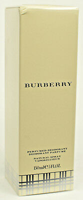 Burberry (Classic)  Ladies  150ml Perfumed Deodorant Natural Spray  NEW & SEALED
