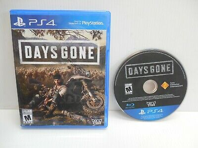 DAYS GONE - Playstation 4 Sony PS4 2019 Game Bend Studio complete in case