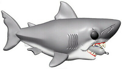 Funko Pop! Movies: - Jaws - Jaws W/ Diving Tank 6 889698385 (Toy Used Very Good)