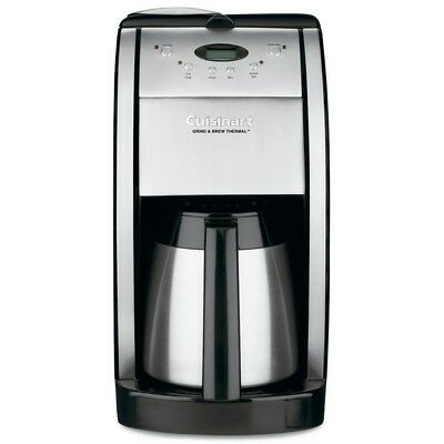 Cuisinart DGB-600BC Automatic Grind & Brew Coffee Maker 10 Cup Thermal Carafe