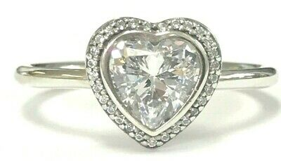 59afce9252e00 AUTHENTIC PANDORA SPARKLING Love Ring, Sterling Silver 190929CZ-52 ...