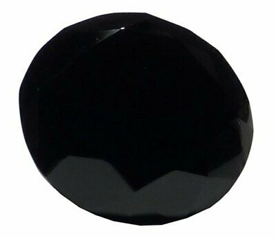 3.15 inch 80mm Black Crystal Glass Diamond Paperweight  FREE SHIPPING  Engravabl
