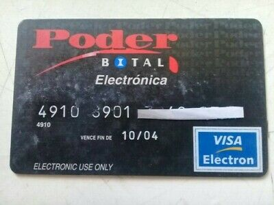 Mexico Credit Cards Expired - Bital - For Collection