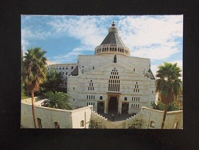 Vintage Postcard - Nazareth, Church of the Annunciation