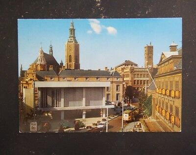 Vintage Postcard - Groenmarkt with St. James Church