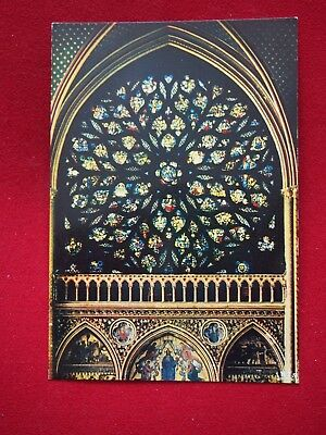 Vintage Postcard - La Sainte Chapelle, Paris