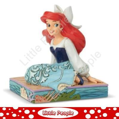 Jim Shore Disney Traditions Ariel personality pose - be bold