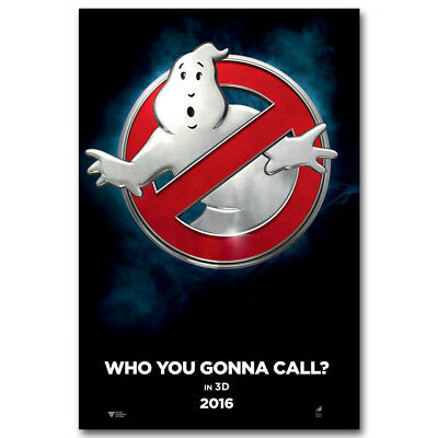 Ghostbusters Classic Movie Silk Fabric Poster Canvas Art Prints 12x18 24x36 inch