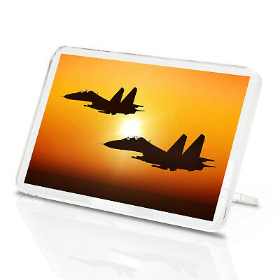 Plane Pilot RAF Airplane Gift #15825 Awesome Fighter Jet Classic Fridge Magnet