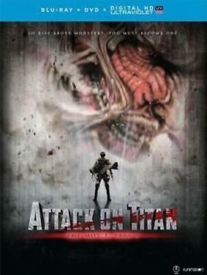 ATTACK ON TITAN THE MOVIE: PART 1 (Region A BluRay,US Import,sealed.)
