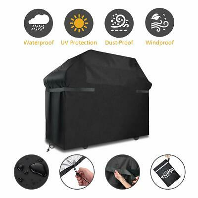 Large BBQ Cover Heavy Duty Waterproof Gas Barbecue Grill Outdoor Protector S/M/L