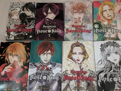 Requiem of the Rose King manga vol 1-8