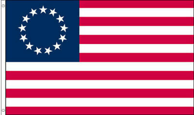 3'x5' US American Betsy Ross 13 Star USA Historical FLAG POLYESTER FLAG