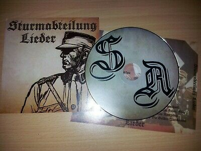 STURMABTEILUNG LIEDER (German S.A songs. Historical records, military music) CD