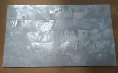 Mother of Pearl Veneer  9 x 5 inch sheet Good Quality
