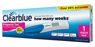 Clearblue Digital Pregnancy Test With Weeks Indicator - 1 Test