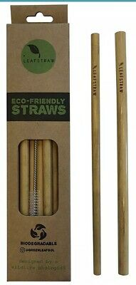 Lot Of Bamboo Straw Boxes, Qty 1000