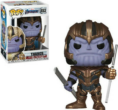 Avengers Endgame - Thanos - Funko Pop! Marvel: (2019, Toy NUEVO)