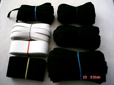 HUGE COLLECTION*NEW*OVER*30.yards.MIXED LOT-ELASTIC