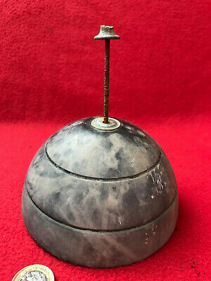 Unusual, Antique Clock Pendulum / Other Part ?. Dome Shape Slate 12.5cm 1.468kg