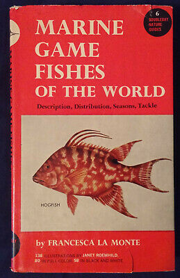 Marine Games Fishes of the World by Francesca La Monte (1952, Hardcover)
