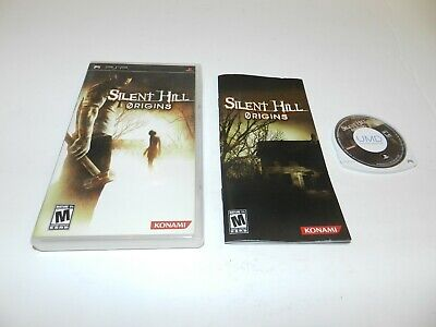 Silent Hill Origins Sony PSP Playstation Game Complete CIB