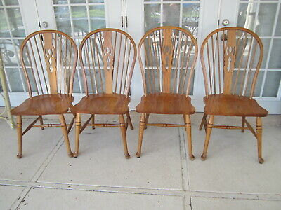 Windsor Traditional Dining chair Solid Wood Set of four Shipping Extra