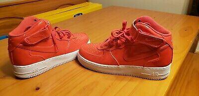 Nike Air Force 1 Mid AF1 SIREN RED LV7 LV8  UV PACK LEATHER AO0702-600 sz 9 ●■●■