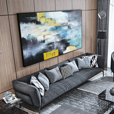 VVV579 Modern Large 100%Hand painted abstract oil painting on canvas  Frameless