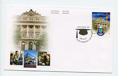 Canada FDC #2209 Canadian Universities HEC Montreal 2007 73-6